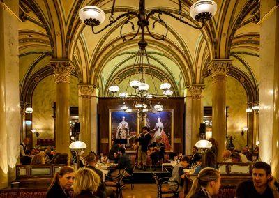 Lesung zum 140. Jubiläum des Cafe Central, Wien