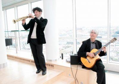 Andrej Prozorov und Vlado Blum - Kick-Off: Kulturplattform Donauraum – Kreative Orte des 21. Jahrhunderts
