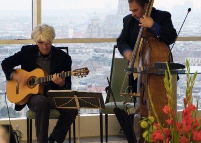 PRISTUP Duo - Hannes Laszakovits & Vlado Blum im Ringturm, Wien