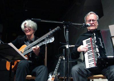 Vlado Blum und Karl Hodina beim Konzert in der Mühle Ottelfingen 2014