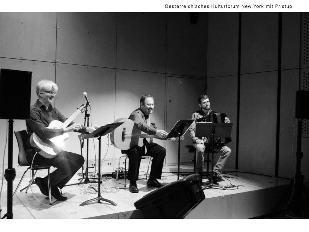 Pristup im Oesterreichischen Kulturforum New-York