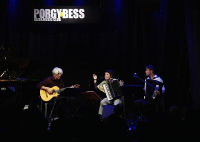 Trio TROI, Klezmore Festivaleroeffnung, Porgy & Bess, Wien